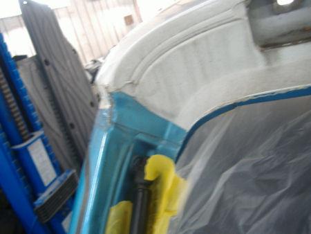 450|338|BMWミニの板金塗装4