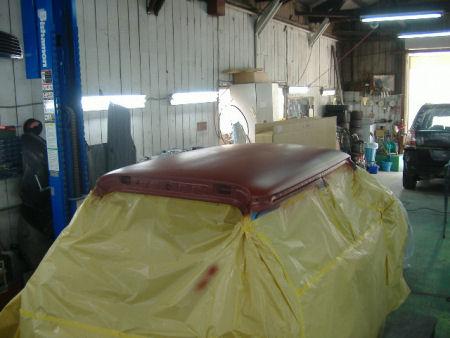450|338|BMWミニの板金塗装8