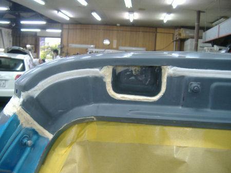 450|338|BMWミニの板金塗装12