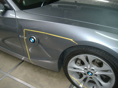 450|338|BMWの板金塗装1
