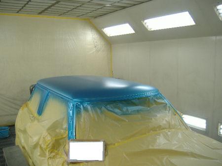 450|338|BMWミニの板金塗装17