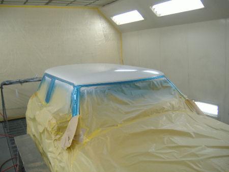 450|338|BMWミニの板金塗装18