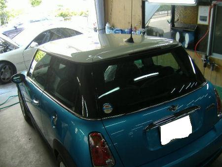 450|338|BMWミニの板金塗装20