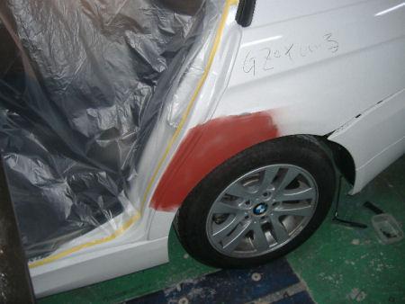 450|338|BMWの板金塗装9