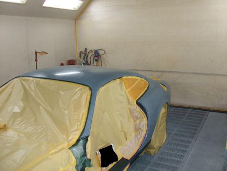 450|338|ジャガーXKの板金塗装。13