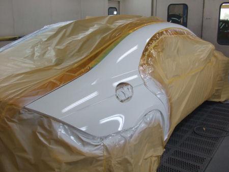 450|338|メルセデスベンツ CLSの板金塗装