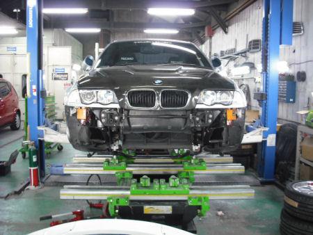 450|338|BMW E46 板金塗装