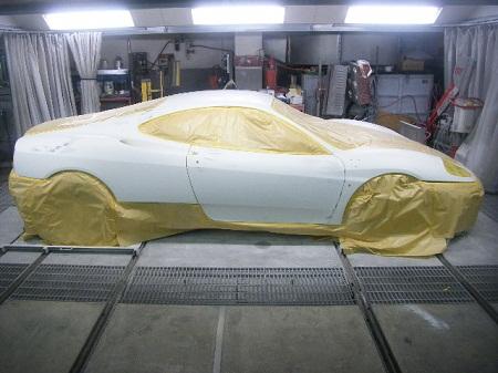 450|337|フェラーリ 360モデナ オールペイント 全塗装