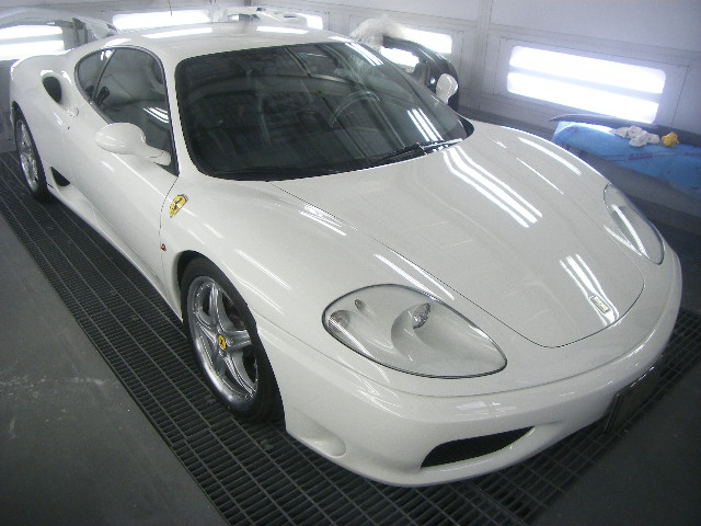 640|480|フェラーリ 360モデナ オールペイント 全塗装