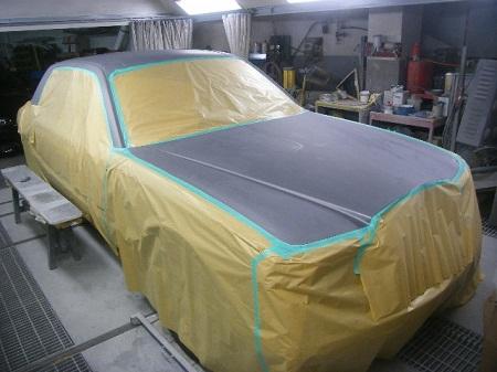 450|337|ベントレー ロールスロイス 全塗装 板金 塗装 大阪