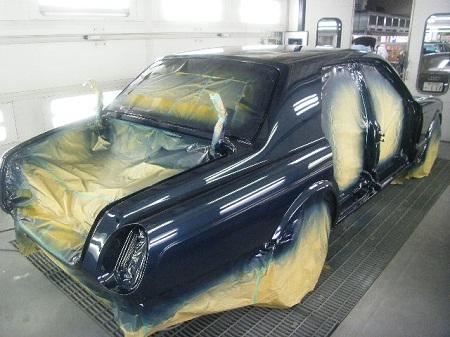 450|337|ベントレー ロールスロイス 全塗装 大阪 板金 塗装